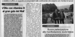 Taglio del nastro del sindaco Montella